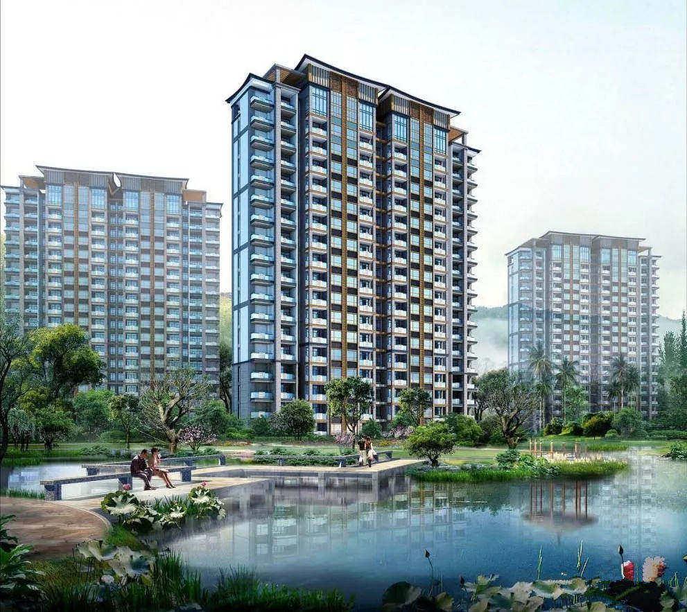 陵水香水国色靠山面海,在售户型建面为73㎡和82㎡,均价20000元/㎡享东方舒适生活